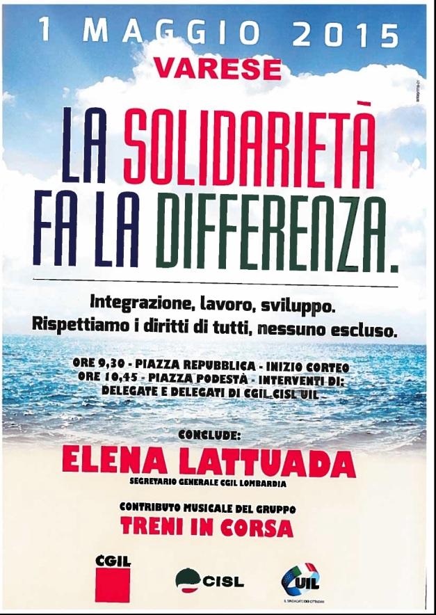 1 maggio 2015 Varese